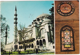 Istanbul - The Mosque Of Soliman The Magnificent - Stained Glass - (Türkiye) - Turkije