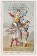 26815 Chromo Magasin Malecot Potiron Lingerie Chemises Potiron Place Sainte Croix Angers France -art Culinaire Clown - Autres