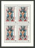 SLOVAKIA CZECHOSLOVAKIA 1993 EUROPA ART WOMAN WITH JUG SHEET MNH - Unused Stamps