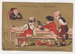 26816 Chromo Magasin Fabrique Bonneterie ALBERT ANGERS Rue Saint Aubin ANGERS Laine Coton Eleve Professeur - Autres