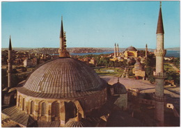 Istanbul - The Blue Mosque And Saint Sophia - (Türkiye) - Turkije