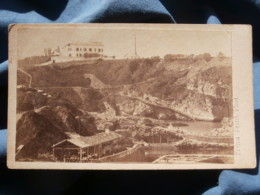 Photo CDV Frois à Biarritz - Biarritz Bord De Mer,  Circa 1880 L422 - Old (before 1900)