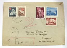 Yugoslavia 525-49-61+Benéficos 11/2 - 1945-1992 République Fédérative Populaire De Yougoslavie