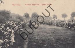 Postkaart - Carte Postale BORGWORM/WAREMME Courses Hippiques-Paarden/Chevaux Ligne D'arrivée (O22) - Waremme