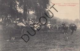 Postkaart - Carte Postale BORGWORM/WAREMME Courses Hippiques-Paarden/Chevaux Concours D'attelages (O21) - Waremme