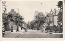 Marcinelle-Centre - Rue De Charleroi - Animé - Edit. Vve M. Locus, Marcinelle - Charleroi