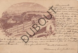 Postkaart - Carte Postale BORGWORM/WAREMME College St Louis 1902 (O33) - Waremme