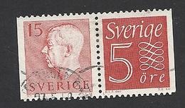 Schweden, 1957, Michel-Nr. 424 + 429, Gestempelt - Schweden