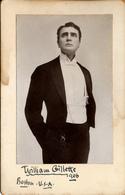 Gillette, William, Sherlock Holmes, Signature, Boston - Theatre, Fancy Dresses & Costumes