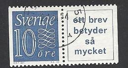 Schweden, 1957, Michel-Nr. 430 + A1, Gestempelt - Schweden