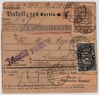 DR, 1923, Nr. 222b, Mi. 250.- Geprüft !    , #a1938 - Germania