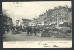 +++ CPA - BRUSSEL - BRUXELLES - Le Marché Du SABLON  // - Markten