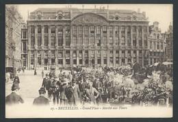+++ CPA - BRUSSEL - BRUXELLES - Grand'Place - Marché Aux Fleurs - Henri Georges  // - Marchés