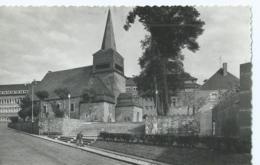 St Hubert - L'église St Gilles Et Monument Aux Morts - Photo Véritable 511 - Edition Lander - Saint-Hubert