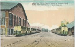 Camp De Beverloo - Station De Train Decauville - Kamp Van Beverloo - Statie Decauville - P.I.B. - 1935 - Leopoldsburg (Kamp Van Beverloo)