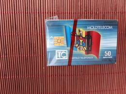 Phonecard Moldavia New With Blister 2 Scans Rare - Moldova