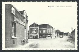 +++ CPA - BRUYELLES - Le Carrefour D'Antoing - Café   // - Antoing