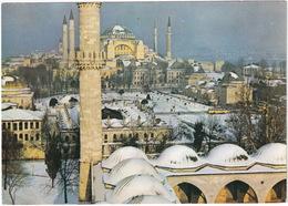 Istanbul - St. Sophia Museum - Snow / Winter  - (Türkiye) - Turkije