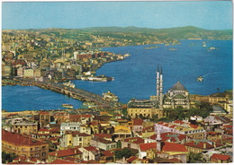Istanbul - A General View Of Istanbul And Golden Horn  - (Türkiye) - Turkije