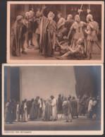 """Passionsspiele Ober-Ammergau """"Verleugnung Jesu"""" 1922, Fotokarte MWSt. 1934 Jubiläums-P.-Spiele, Abschied Von Bethanien - Jeux Régionaux"""