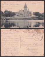 Tilsit Sowetsk (Kaliningrad) Ostpreußen, Kreishaus1915 Feldpostkarte Mit Bahnhpostst. Königsberg - Tilsit - Ostpreussen