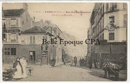 75 - PARIS 18 -- #2 -- Rue Des Poissonniers Pris De La Rue Marcadet +++ E. V. / EV +++ RARE - Arrondissement: 18
