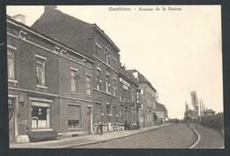 +++ CPA - GEMBLOUX - Avenue De La Station - Café   // - Gembloux