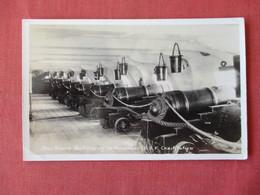 RPPC Star Board Battery Of 14 Pounders  U.S.F. Constitution   Ref 3157 - Oorlog