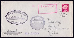 """GERMANY, 1978, MS""""EUROPA"""" 3 Cachets On Ship-Cover, PAQUEBOT Tromsö !! Look Scan !! 24.6-95 - Stamps"""