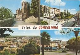 22/FG/19 - TREVISO - CONEGLIANO: Saluti Da, Con Vedutine - Treviso
