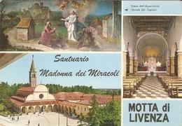 23/FG/19 - TREVISO - MOTTA DI LIVENZA: Santuario Madonna Dei Miracoli - Treviso