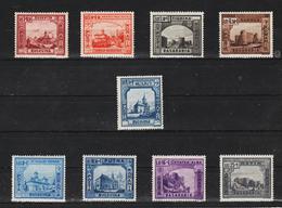 1941 - Forteresses Et Monastères Mi No 734/742  MNH - 1918-1948 Ferdinand, Carol II. & Mihai I.