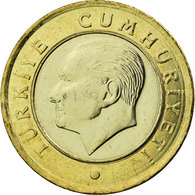 Monnaie, Turquie, Lira, 2009, SUP, Bi-Metallic, KM:1244 - Turquie