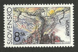 SLOVAKIA CZECHOSLOVAKIA 1995 EUROPA PEACE & FREEDOM ALLEGORY SET MNH - Unused Stamps
