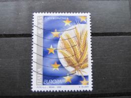 *ITALIA* USATI 2005 - EUROPA 2005 - SASSONE 2817 - LUSSO/FIOR DI STAMPA - 6. 1946-.. Repubblica