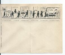 Enveloppe Illustrateur /Lettre Illustrée Satirique Et Publicitaire: Lutte Conte L'Alcool , Vins , Absinthe - France