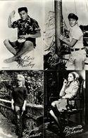 French Actress Brigitte Bardot, American Singer Elvis Presley (1965) Takken RPPC - Entertainers