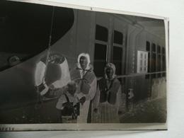 ALBERTVILLE  COPACABANA BATEAUX COMPAGNIE MARITIME BELGE LOT 1 NÉGATIF PHOTO  +  VIEUX PAPIERS VOYAGE CONGO - Barche