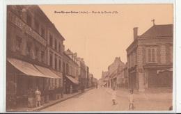 CPA- ROMILLY-sur-SEINE- Rue De La Boule D'Or- Dép10- Animée-2scans - Romilly-sur-Seine