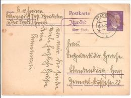 Landpoststempel über Stade. 15.8.42 - Briefe U. Dokumente