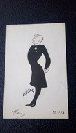 """Caricature Homme Célèbre, Edouard """"De Max"""" Illustré Par Zim / Acteur De Théâtre Et De Cinéma - Ilustradores & Fotógrafos"""
