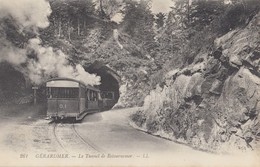 GERARDMER: Le Tunnel De Retournemer (Tramway De La Schlucht) - Gerardmer