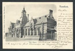 +++ CPA - TURNHOUT - La Gare - Statie   // - Turnhout