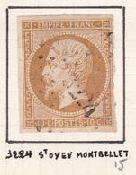 France - PC 3224 - St-Oyen-Montbellet - Saône-et-Loire - Marcophilie (Timbres Détachés)