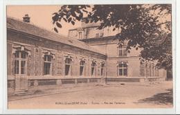 CPA- ROMILLY-sur-SEINE- Ecoles Rue Des Fontaines -dép10-2scans - Romilly-sur-Seine