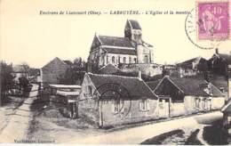 60 - Environs De LIANCOURT : LABRUYERE - L'Eglise Et La Montée - CPA - Oise - Liancourt