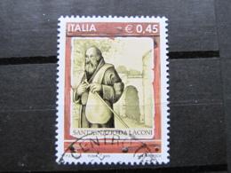 *ITALIA* USATI 2005 - SANT'IGNAZIO DA LACONI - SASSONE 2819 - LUSSO/FIOR DI STAMPA - 6. 1946-.. Repubblica