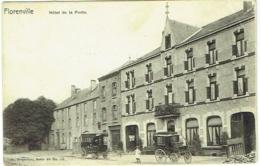 Florenville. Hôtel De La Poste. Attention Petite Pliure Coin Droit En Haut. - Florenville