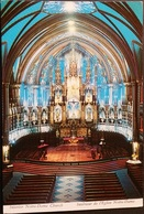 Ak Kanada - Montreal - Notre Dame Church - Innenaufnahme - Kirche , Eglise - Kirchen U. Kathedralen