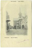 Antwerpen Sint-Amands. Kerskstraat. Rue De L'Eglise. - Sint-Amands